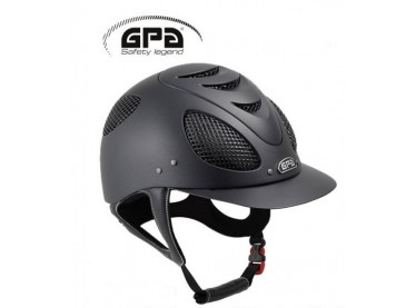 Casco GPA Speed Air Evolution bicolor negro