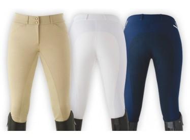 Pantalón Lexhis Sara Competición señora beige/blanco/azul