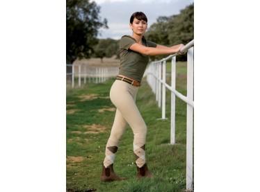 Pantalón Cotton Naturals Professional fino señora beige