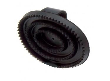 Rasqueta goma ovalada