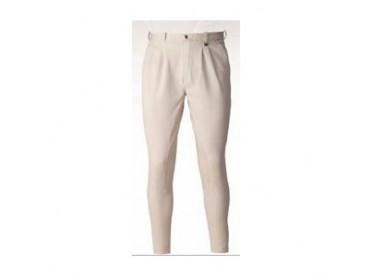 Pantalón Kenter algodón/pinzas caballero beige
