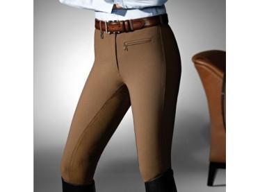 Pantalón Pikeur Lugana algodón señora marrón